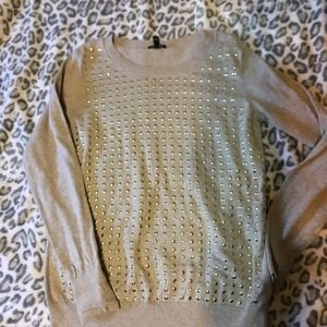 NWOT express sweater studded